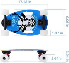 SANSIRP Lightweight 17″ Mini Skateboard