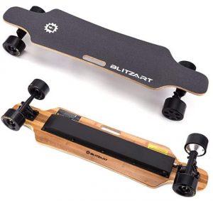 "Blitzart 38"" Hurricane Electric Longboard"