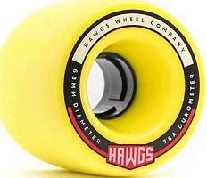 Hawgs Chubby- Best All-terrain Skateboard Wheels