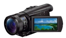 Sony FDR-AX100 4K Video Camera