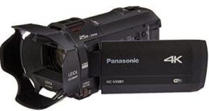 Panasonic HC-VX981K Ultra HD 4K Camera