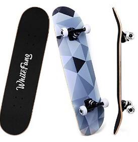 WhiteFang Complete Tricks Skateboard