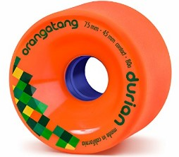 Orangatang Durien longboard skateboard wheels