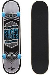 """Kryptonics 31"""" Skateboard- Best for Fat guys"""