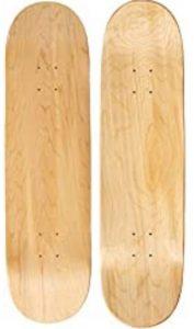 Moose Natural Blank Skateboard Deck