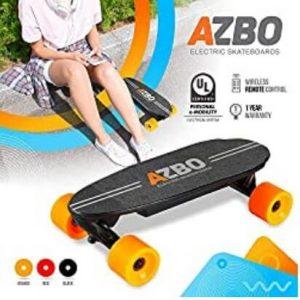 """Azbo 17"""" Mini Electric Skateboard"""