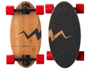 Eggboards Mini Longboard Skateboard- Best For English Bulldog