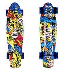 DINBIN Complete Highly Flexible Skateboard