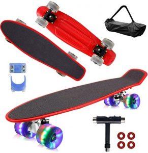 Geelife 22″ Mini Cruiser Skateboard Set