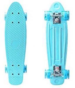 YF YOUFU 22 Inch Skateboard For Kids And Beginners