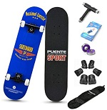 Puente Complete Beginner Skateboard With Accessories