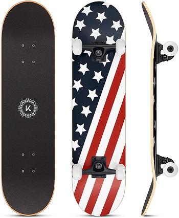 "Kizsbro 31 x 8"" Skateboards for Boys and Girls"